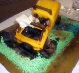 Off Road Groom's Cake
